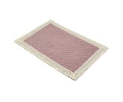 Элитный коврик для ванной Rombetti розовый от Old Florence