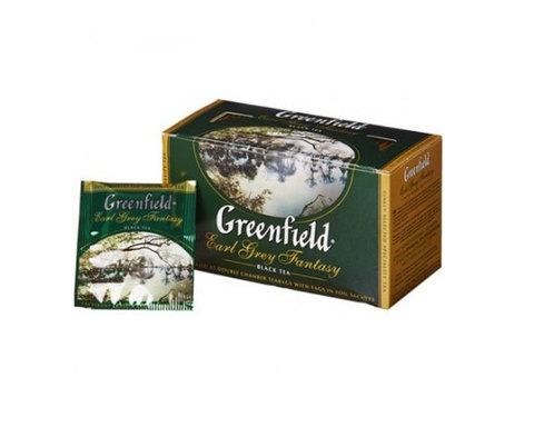 Greenfield Earl Grey Fantasy, 25 пак/уп