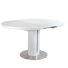 Стол обеденный AVANTI SLIM (110) WHITE (белый)