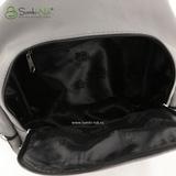 Сумка Саломея 502 английский серый + черный (рюкзак)