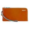 Клатч Piquadro Blue Square оранжевый телячья кожа (AC2648B2/AR) цена и фото