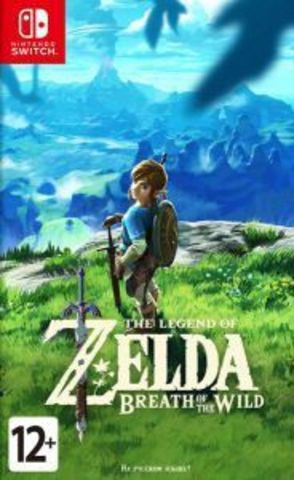 Nintendo Switch The Legend of Zelda: Breath of the Wild (русская версия)