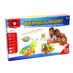 Магнитный конструктор 32 мини деталей  Mini Magical Magnet