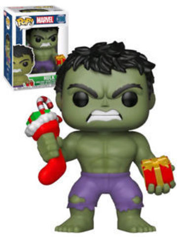 Hulk Holiday Funko Pop! Marvel Vinyl Figure || Новогодний Халк