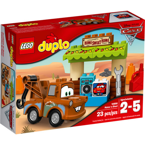 LEGO Duplo: Тачки: Гараж Мэтра 10856 — Cars Mater's Shed — Лего Дупло