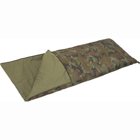 Спальный мешок-одеяло CO 2M Mobula (камуфлированный)