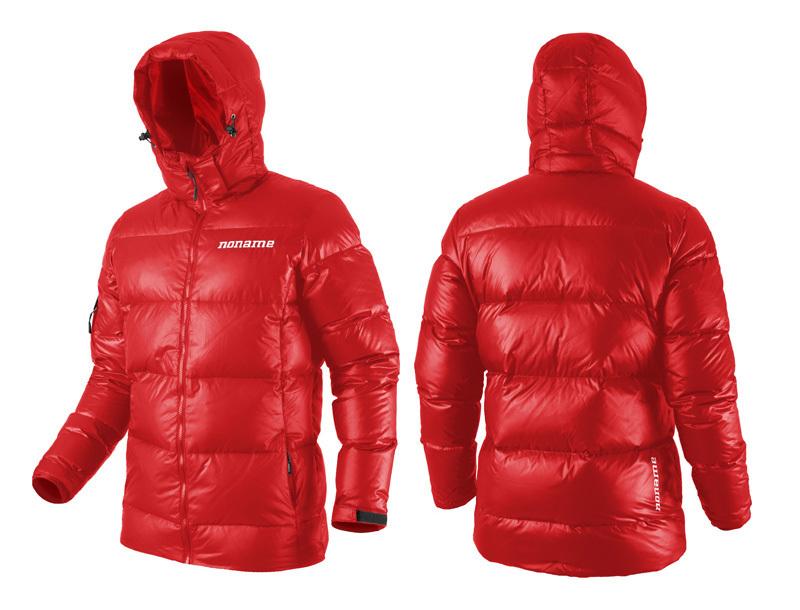 Куртка пуховая Noname Heavy down (106070) красная