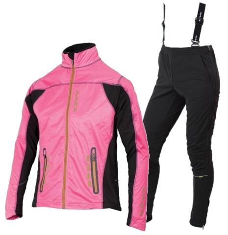 OWE WAY CATAMA-VIKO женский лыжный костюм фуксия