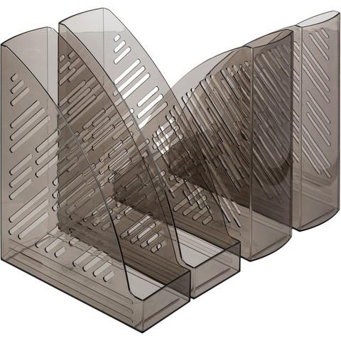 Вертикальный накопитель Attache 85мм дымчатый 4шт/упк