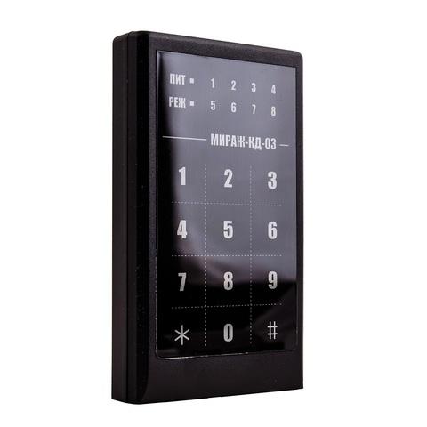 Сенсорная кодовая панель МИРАЖ-КД-03 (Black)