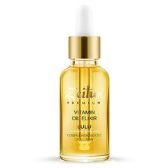 Витаминный масляный эликсир LULU для сияния кожи лица, Zeitun