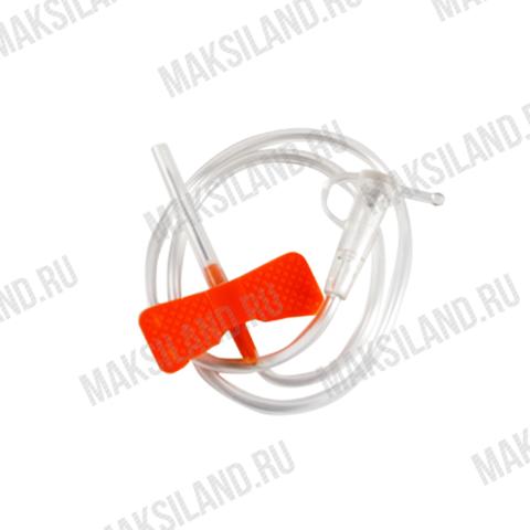 Устройство для вливания в малые вены 25G Игла-бабочка Минивен SF, уп.100шт