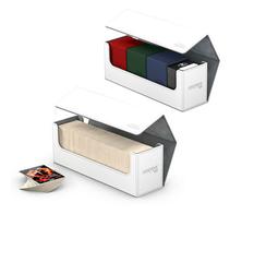 Ultimate Guard - Коробочка кожаная белая для хранения 400+ карт
