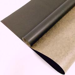 Крафт-бумага вержированная однотонная Черная, 72 см * 10 м