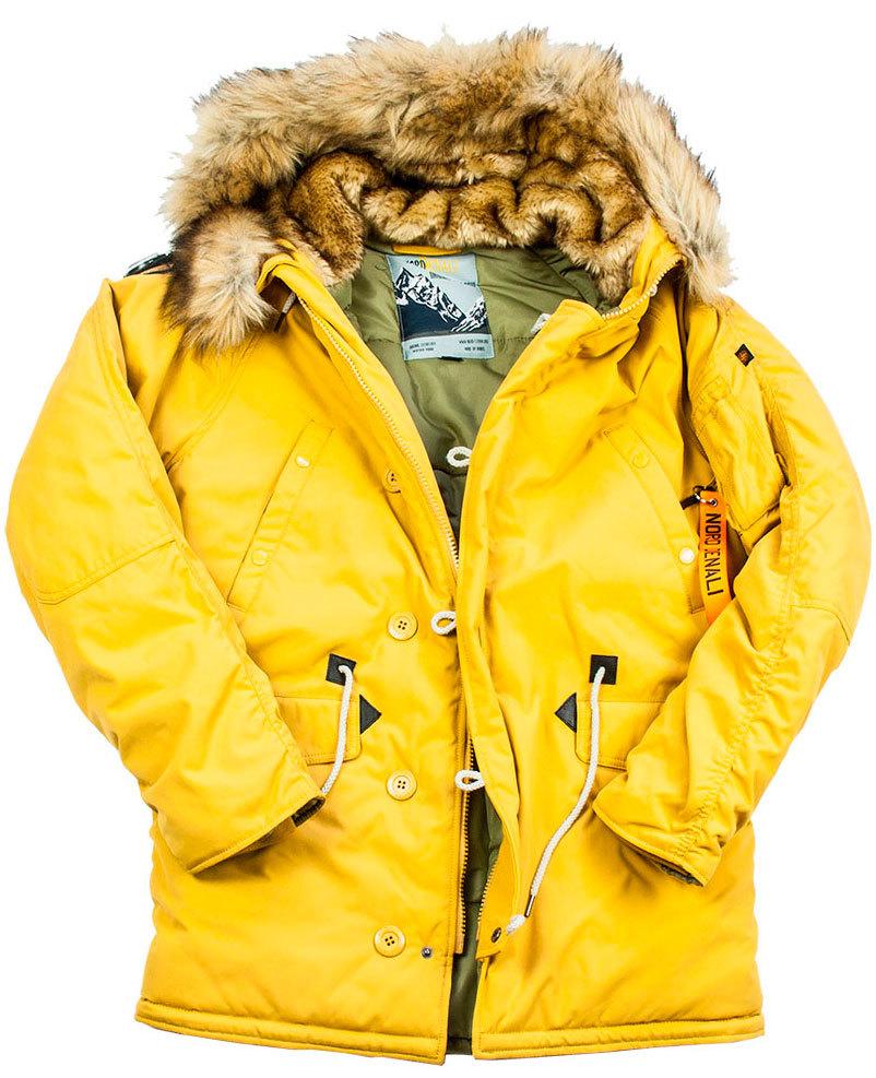 Куртка Аляска  Oxford Denali Storm (горчичная - mustard)