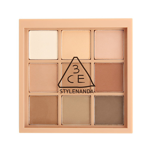 Палетка теней 3CE Mood Recipe Multi Eye Color Palette #Smoother 8g