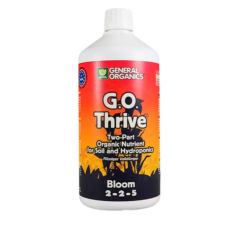 Органическое удобрене GO BioThrive Bloom