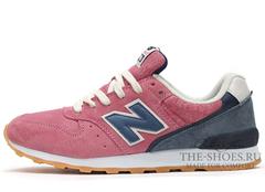 Кроссовки Женские New Balance 996 Pink Grey White