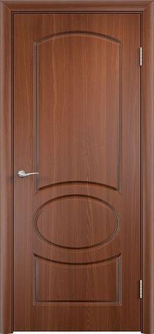Дверь Сибирь Профиль Неаполь, цвет итальянский орех, глухая