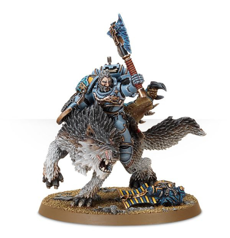 WOLF LORD ON THUNDERWOLF