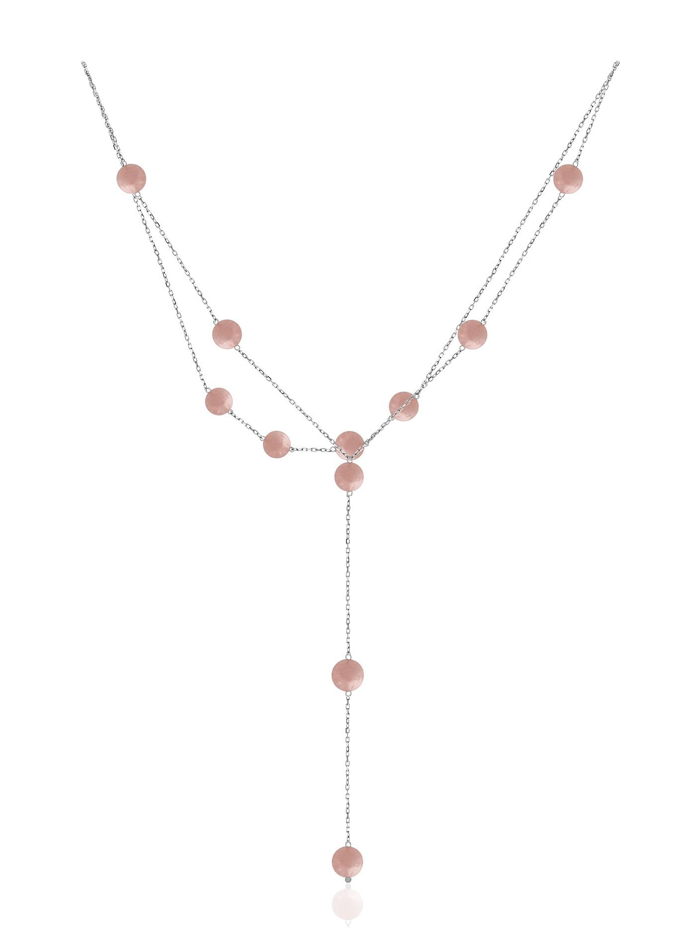 Сотуар на спину из розового кварца