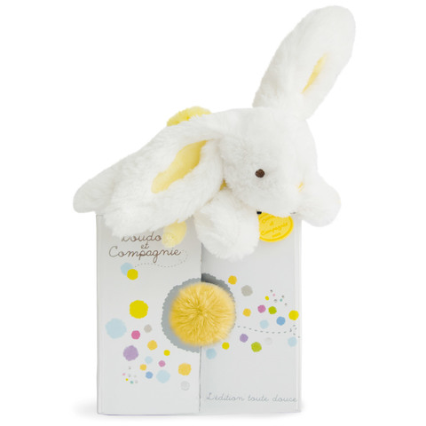 Doudou et Compagnie. Rabbit soft yellow - Cuckoo Doudou