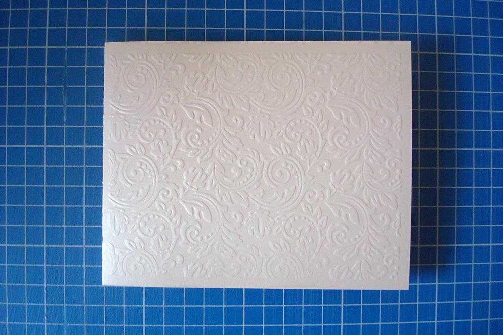 Заготовка для открытки «Узоры» 12х15 см, айвори