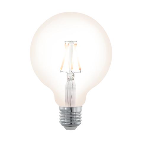 """Лампа  Eglo филаментная диммируемая """"Северное сияние"""" LM LED E27 G95 2200K 11707"""