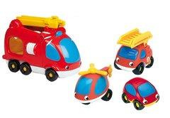 Smoby Набор пожарных машинок