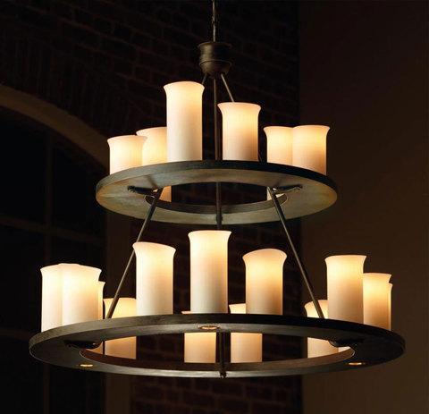 vintage chandelier RUFFLES 1 by FunkyVintage