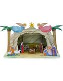 Модель из картона Рождественский вертеп