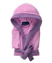 Элитный халат детский махровый Young ярко-розовый от Caleffi