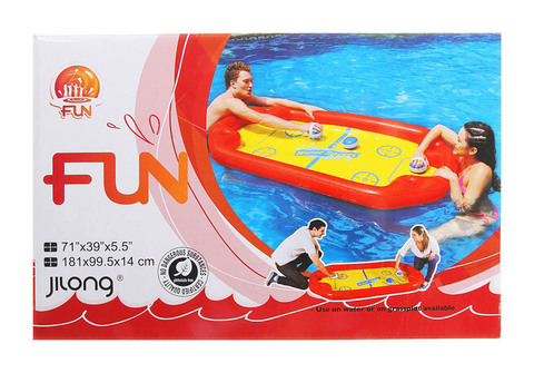 Подвижная надувная игра на воде