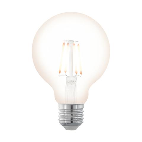 """Лампа  Eglo филаментная диммируемая """"Северное сияние"""" LM LED E27 G80 2200K 11706"""