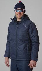 Утеплённая прогулочная лыжная куртка Nordski Motion dark navy мужская