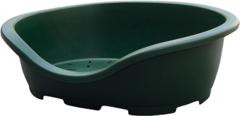 Лежанка для собак и кошек Marchioro PERLA 6, 91х63х30 см зеленый