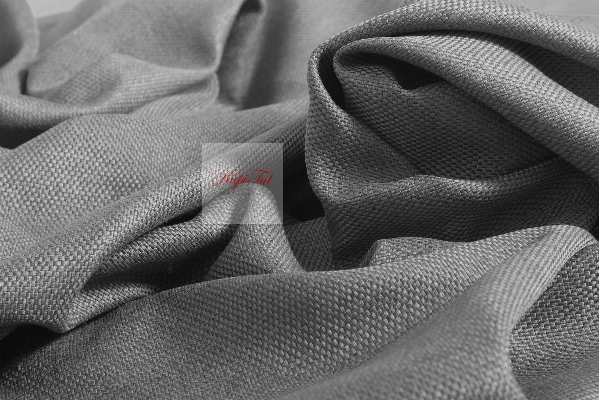 Тоскана (серый). Плотные шторы рогожка.