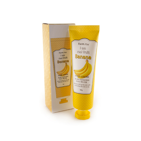 FarmStay Крем для рук с экстрактом банана I AM REAL FRUIT BANANA HAND CREAM