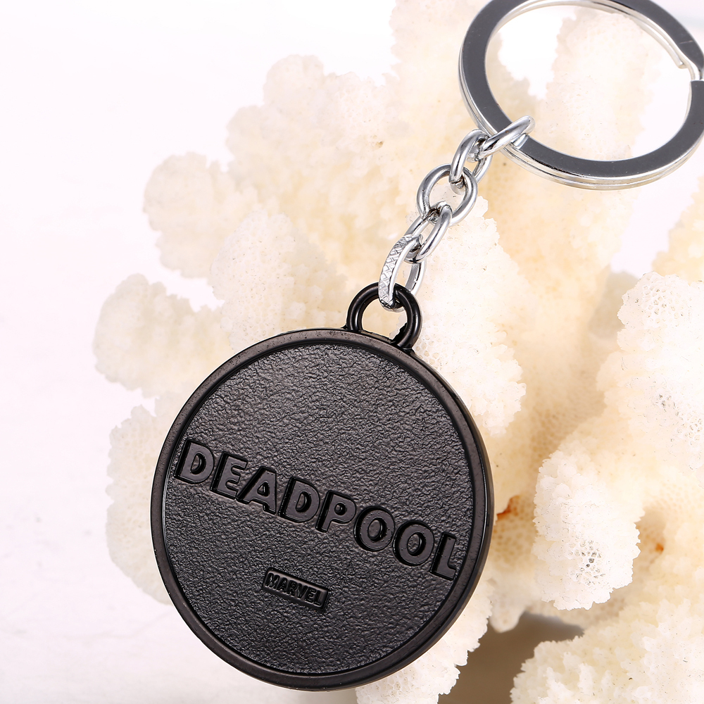 Keychain Deadpool Marvel Logo