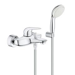 Смеситель для ванны с душевым набором Grohe Eurostyle New Solid 2372930A фото