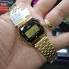 Купить Электронные часы Casio A-159WGED-1D с бриллиантами по доступной цене