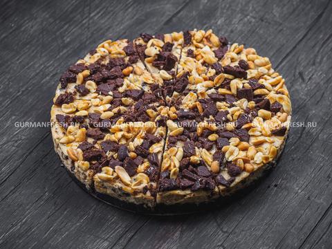 Торт Чизкейк New York с карамелью и арахисом 1200 гр