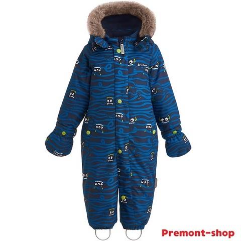 Зимний комбинезон Premont Монстрики WP92057 BLUE