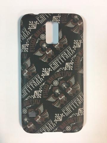 Кейс для смартфона Samsung Galaxy 5 чёрный пластик