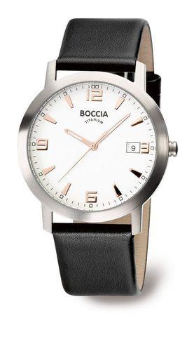 Купить Мужские наручные часы Boccia Titanium 3544-02 по доступной цене
