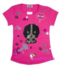 610 футболка щенок
