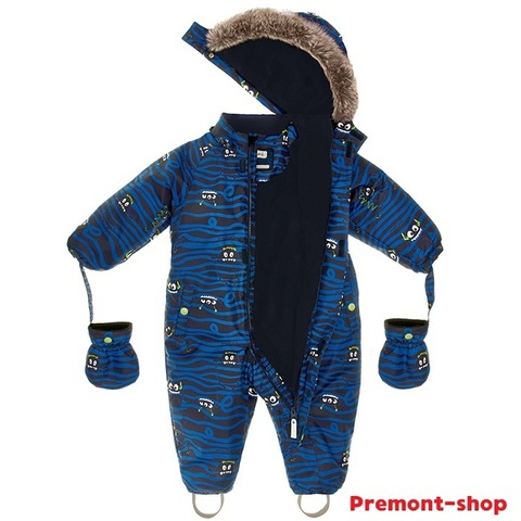 Комбинезон Premont для мальчика Монстрики WP92057 BLUE