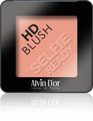 Alvin D`or B-2 Румяна пудровые HD Blush selfie ready 6гр (тон 08)