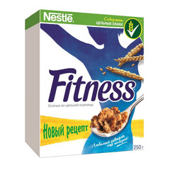 Завтрак Хлопья Nestle Fitness из цельной пшеницы 250г