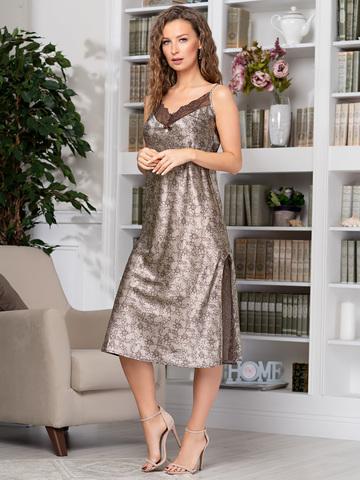Длинная женская сорочка MIA-AMORE  AJUR АЖУР 8775